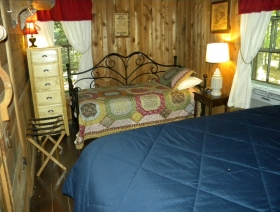 twin bed downstairs