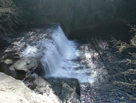 Hooker Falls in Dupont State Forest